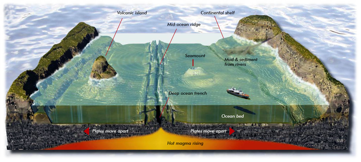 Biosciences our oceans and seas for How did scientists determine the age of the ocean floor
